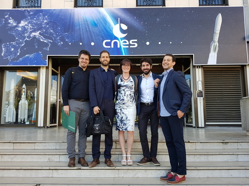 COMPASS at the 5th European Workshop on Space Debris Modeling and Remediation