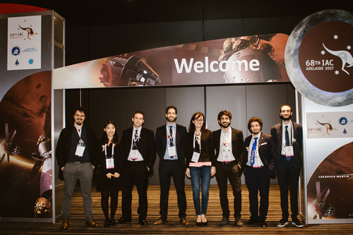 The COMPASS team at the 68th International Astronautical Congress
