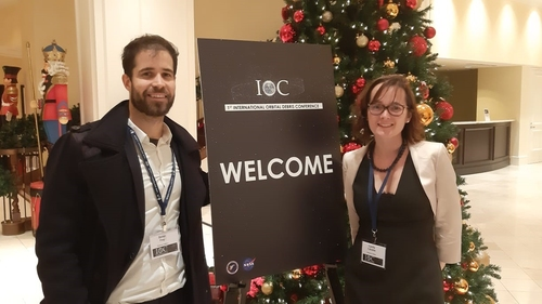 COMPASS at the first International Orbital Debris Conference