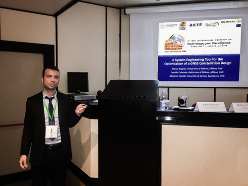 COMPASS at the 5th IEEE International Workshop on Metrology for Aerospace