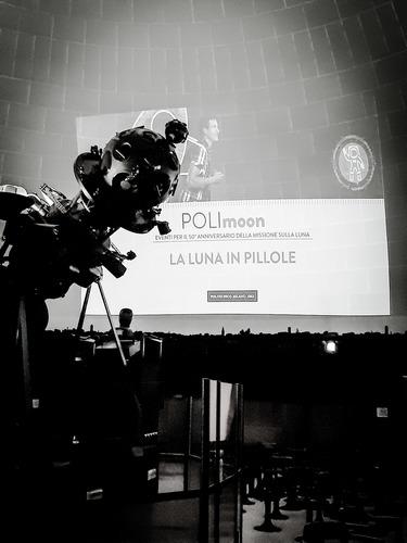 Mirko Trisolini and Simeng Huang at PoliMoon 2019